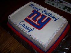 ny giants football cake totally making this for the next giants