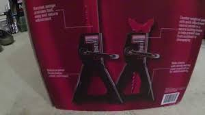 3 Ton Floor Jack Jack Stands And Creeper Set by Craftsman 3 Ton Jack Stand Un Boxing Review Youtube