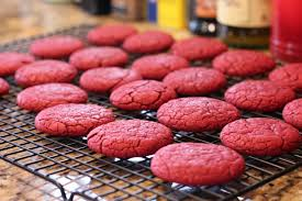 murica red velvet cake mix cookies