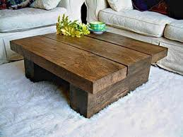 Rustic Side Tables Living Room Coffee Table Wooden Solid Rustic Coffee Table With White Rug
