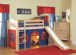Cheap Wood Bunk Beds Bedroom Simple And Cheap Wooden Bunk Bed Design For Kids With