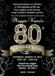 36 best birthday invitations images on pinterest 80 birthday