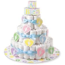 wilton baby shower baby feet diaper cake kit 1 ct walmart com