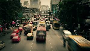 Washed Out Colors - city life stock footage video shutterstock