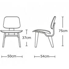 Armchair Dimensions Eames Chair Dimensions Eamesâ Molded Plywood Lounge Chair Wood