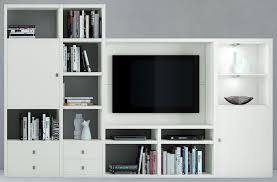 Wohnzimmer Regal Weis Toro Schrankwand Bücherregal Bibliothek Regal Mit Schiebetür