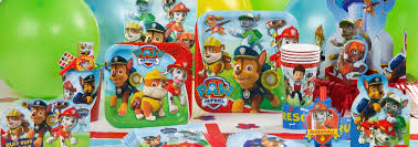 PAW Patrol Party Supplies PAW Patrol Birthday