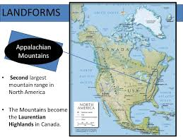 america map mountains america geography and physical features ppt