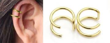 cuff earring tired ear cuff earring