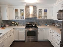 Glass Backsplash For Kitchen Quartz U0026 Glass Russellbuilding Com