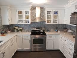 Custom Kitchen Backsplash Quartz U0026 Glass Russellbuilding Com