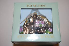 german krebs lauscha glass ornament deer and 30 similar items