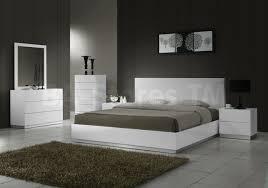 Modern White Bed Frame Naples Platform Bed White 715 00 Furniture Store Shipped