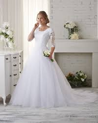 modest wedding dresses with 3 4 sleeves bonny bridal bliss modest collection wedding dresses