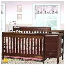 cherry changing table dresser combo crib and changing table stagebull com