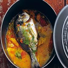 dorade cuisine dorade with citrus le creuset recipes