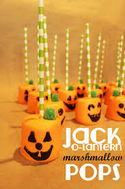 Easy Halloween Cake Pops by Jack O Lantern Marshmallow Pops Recipe And Craft