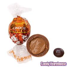 lindt chocolate lindor truffles peanut butter 60 piece box