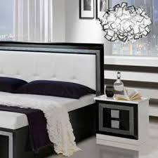 Modern Italian Bedroom Sets Oscar Italian Bedroom Furniture - White high gloss bedroom furniture set
