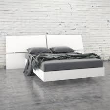 Platform Bed Canada Nexera Acapella Platform Bed With Panoramic Headboard Lowe U0027s Canada
