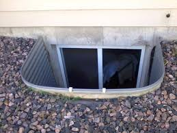 new window wells fill the gaps of the basement window wells