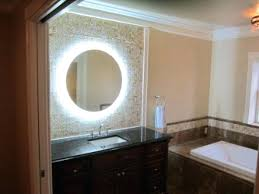 Bathroom Mirrors Houzz Impressing Lighted Bathroom Vanity Mirrors For In Mirror