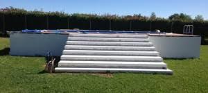 rivestimento in legno per piscine fuori terra vendita piscine fuori terra la tua piscina