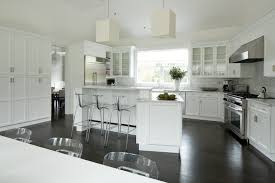 white kitchen island with breakfast bar angled kitchen island transitional kitchen weitzman halpern