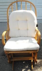 White Glider Rocking Nursery Chair Furniture Glider Rocking Chair For Your Cozy Nursery Furniture