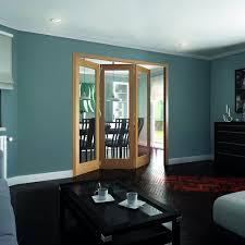 jeld wen internal oak room fold 2047 x 2157 x 92mm 3 door clear