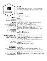 Experienced Graphic Designer Resume About U2013 Rose Luzon Creative