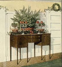 old fashioned christmas greenery decorating ideas a hundred 1913 12 81 d
