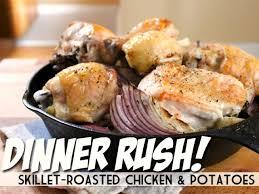 roast chicken dinner with roasted garlic gravy recipes cooking