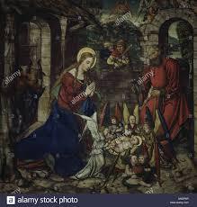 fine arts religous art jesus christ birth of christ painting