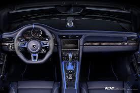 porsche stinger interior blue topcar porsche 991 stinger adv5 m v1 sl monoblock wheels