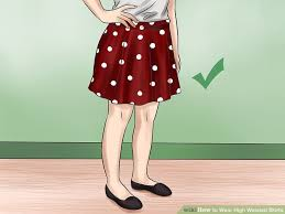high waisted skirts how to wear high waisted skirts 12 steps with pictures