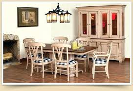 country dining room sets 6 pieces country style dining room design with flower centerpieces