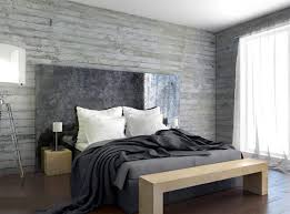 Bold Bedroom Designs With Concrete Walls Rilane - Concrete walls design