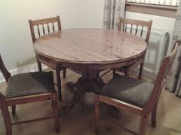 Pine Dining Room Chairs Modern Solid Pine Dining Table And Chairs 5piece Set Table