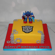 transformers cakes square transformers theme cake