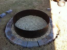Firepit Ring Metal Pit Ring Beautiful Metal Ring Pit Ring