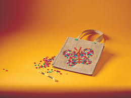 button bag craft kit house of crafts