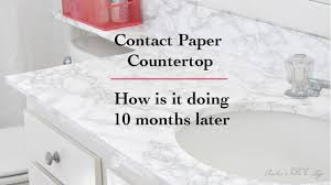 contact paper marble contact paper countertop 10 months later anika s diy life