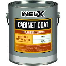 cabinetcoat 1 qt white satin interior trim and cabinet enamel