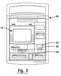 patent us7004385 currency dispensing atm with rfid card reader