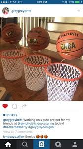 Basketball Centerpieces Basketball Centerpiece Centerpieces Bar Mitzvah And Basketball