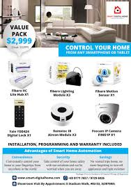 smart digital home automation singapore