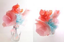 lemon jitters diy flowers cupcake wrappers u0026 coffee filters food