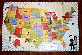 Wall Map Of Usa by Little Passports Usa Edition Discovery Kit Review Subscription