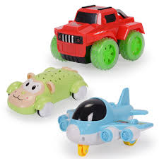 Nextx Baby Toys Cartoon Car Push And Go Vehicles Play And Learn